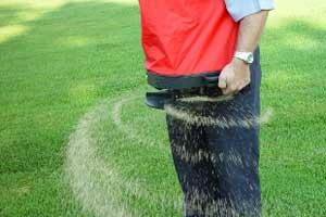 aparat de fertilizat gazonul imprastiat ingrasaminte