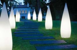 sistem de iluminat pentru gradina