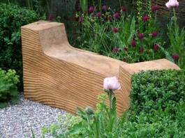 banca din lemn masiv