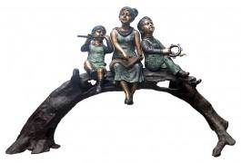 statuie de gradina turnata din bronz